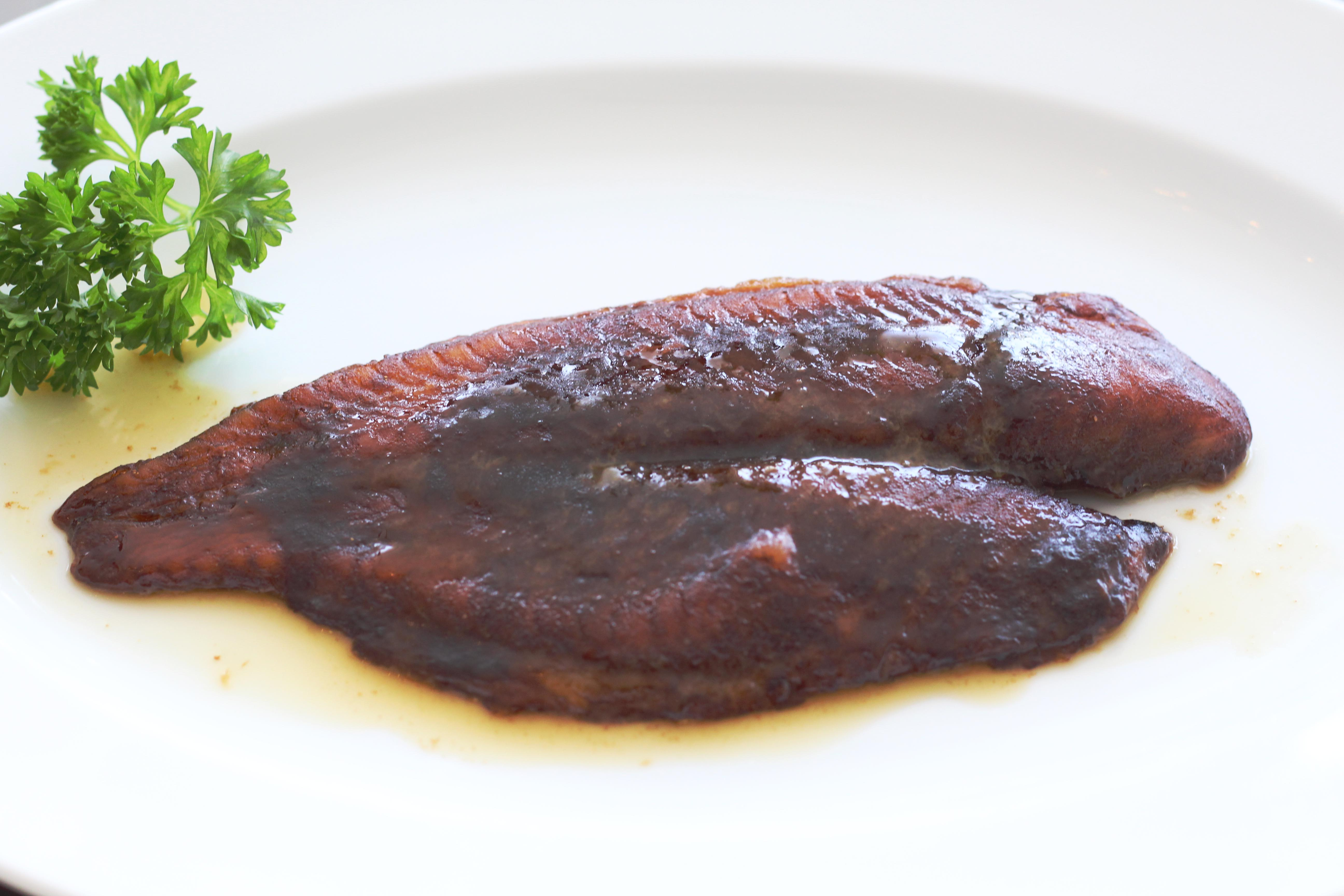 Marinated fish fillets